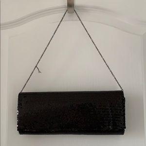 NWT White House   Black Market Sequins Clutch